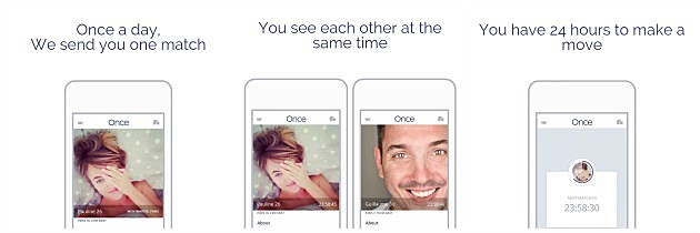 Once dating app matching quality