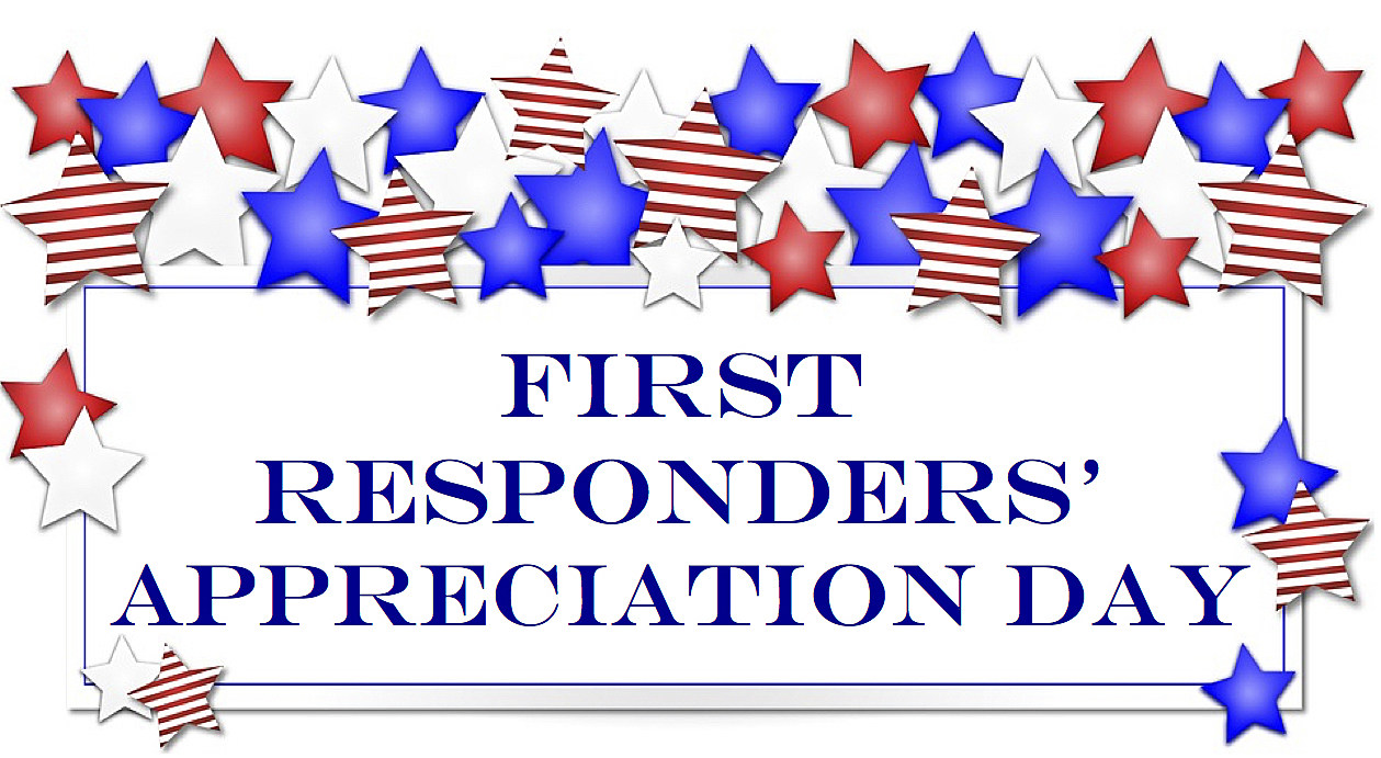 First Responders Appreciation Day on Thursday, July 14th
