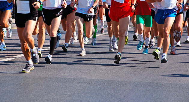 Runners at a Marathon