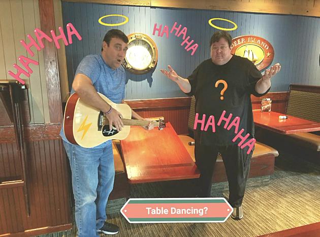 Steve Shannon & Wild Bill Table dancing gone bad